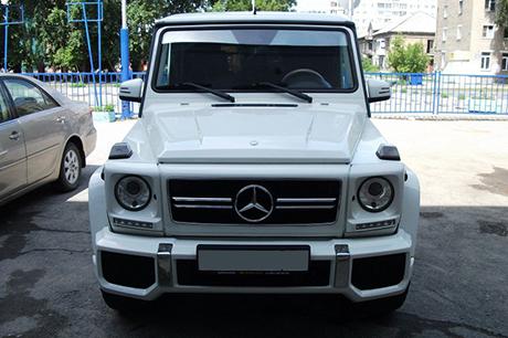 Аренда Mercedes-Benz G500 с водителем