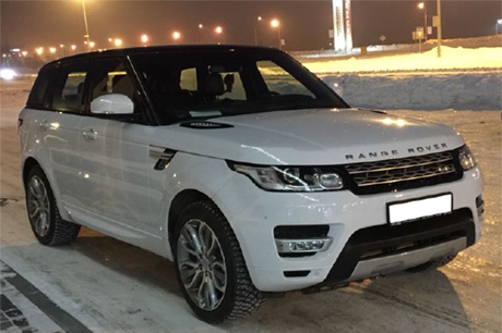 Аренда Range Rover Sport с водителем в Новосибирске