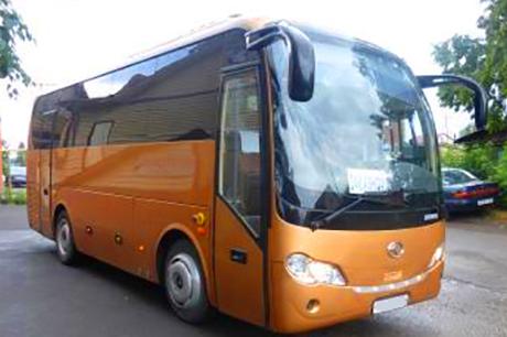 Заказ автобуса Кин лонг в Новосибирске
