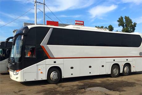 Заказ автобуса с туалетом в Новосибирске
