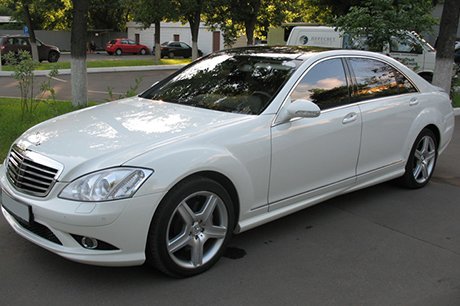 Аренда Mercedes-Benz S500 W221 long в Новосибирске